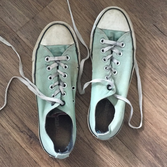 Pink Suede Converse All Stars Immaculate Condition Worn